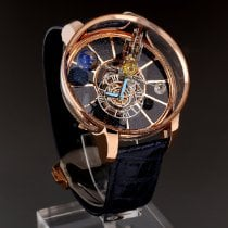 Jacob & Co. Astronomia Oro rosa 50mm Azul