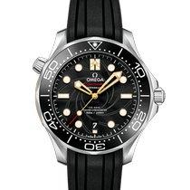 Omega Seamaster Diver 300 M Stal 42mm Czarny Bez cyfr Polska, Zielona Góra