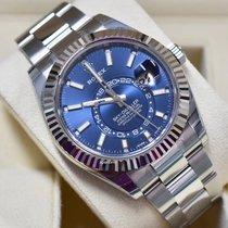 Rolex Sky-Dweller Steel 42mm Blue No numerals United States of America, Virginia, Arlington