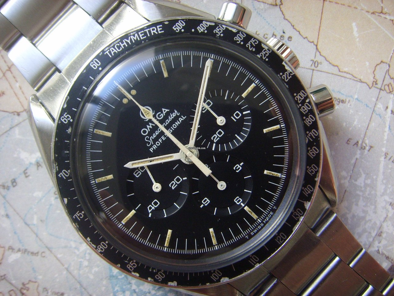 Omega Speedmaster Professional Moonwatch 145.022 1974 usados