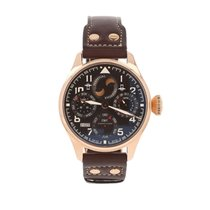 IWC Big Pilot Rose gold 46mm Brown Arabic numerals United States of America, California, Redwood City
