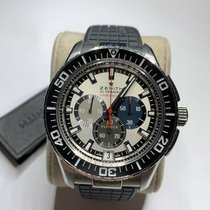 Zenith El Primero Stratos Flyback Steel 45.5mm Silver No numerals United States of America, Texas, Mckinney