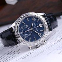 Patek Philippe Annual Calendar Chronograph Platinum 40.5mm Blue No numerals