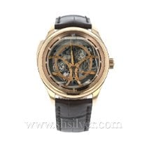 Jaeger-LeCoultre Master Grande Tradition Rose gold 44mm Transparent No numerals United States of America, California, Redwood City