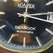 Roamer Searock Acero 36mm Negro Sin cifras