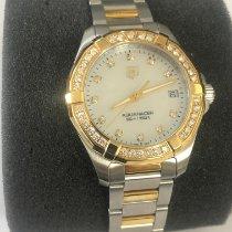 TAG Heuer Aquaracer Lady WAY1353.BD0917 Nu a fost purtat Aur/Otel 32mm Cuart