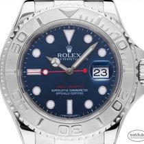 Rolex Acero Automático Azul 40mm usados Yacht-Master 40