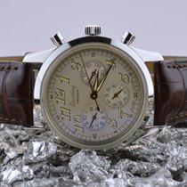 Breitling Navitimer Staal 36.5mm Zilver Arabisch Nederland, Goor