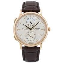 A. Lange & Söhne Saxonia neu 2021 Automatik Uhr mit Original-Box und Original-Papieren 386.032