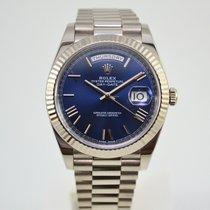 勞力士 Day-Date 40 新的 2020 自動發條 附正版包裝盒和原版文件的手錶 228239