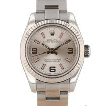 Rolex Oyster Perpetual 26 usados 26mm Plata
