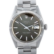 Rolex Oyster Perpetual Date occasion 34mm Gris Date Acier