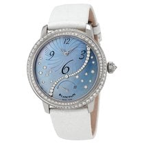 Blancpain Women White gold 36,8mm Mother of pearl