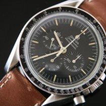 Omega Speedmaster Professional Moonwatch pre-owned 42mm Brown Chronograph Steel