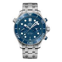 Omega Seamaster Diver 300 M Steel 44mm Blue United States of America, New York, New York