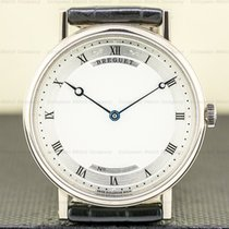 Breguet Classique White gold 38.4mm Silver Roman numerals United States of America, Massachusetts, Boston