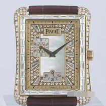 Piaget Yellow gold Automatic Mother of pearl 32mm pre-owned Emperador