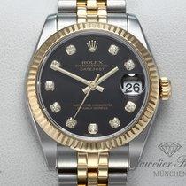 Rolex Lady-Datejust Gold/Stahl 31mm Schwarz Keine Ziffern Deutschland, München