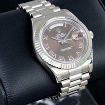 Rolex Day-Date II Белое золото 41mm Россия, Moscow