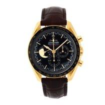 Omega Speedmaster Professional Moonwatch Yellow gold 42mm Blue