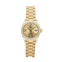 Rolex 279138RBR Oro amarillo Lady-Datejust 28mm usados