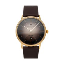 Hamilton Intra-Matic Rose gold 42mm Brown No numerals United States of America, Pennsylvania, Bala Cynwyd