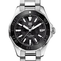 TAG Heuer Aquaracer Lady Steel 35mm Mother of pearl No numerals