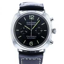 Panerai Radiomir Chronograph pre-owned 42mm Black Leather