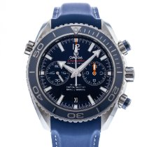 Omega Seamaster Planet Ocean Chronograph Titane 45.5mm Bleu