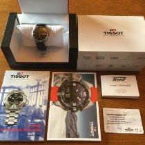 Tissot Heritage Visodate pre-owned 40mm Black Date Weekday Leather