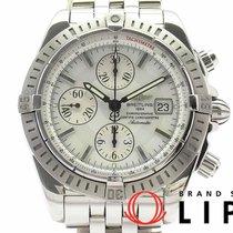 Breitling Chronomat Evolution Acero 43mm Blanco