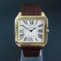 Cartier Santos Dumont Gelbgold 38mm Weiß Römisch Deutschland, Essen