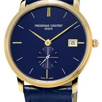 Frederique Constant Slimline Gents 37mm Blue