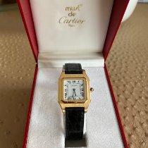 까르띠에 옐로우골드 26,8mm 쿼츠 Santos (submodel) 중고시계
