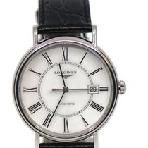 Longines Présence Steel 40mm White United States of America, New York, New York