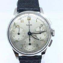 Jaeger-LeCoultre Acier 35mm Remontage manuel Jaeger LeCoultre Vintage Chronograph occasion