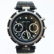Gérald Genta Acero 36mm Cuarzo Gerald Genta Gefica Chronograph Watch Steel & Rubber usados