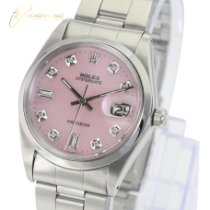 Rolex Oyster Precision Steel 34mm Silver No numerals United States of America, California, Sherman Oaks