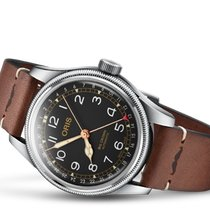 Oris Big Crown Pointer Date Acero 40mm Negro España, España