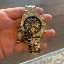 Breitling Chronomat 44 Gold/Steel 44mm Blue United States of America, Massachusetts, Uxbridge