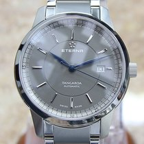 Eterna Steel Automatic Grey 42mm new Tangaroa