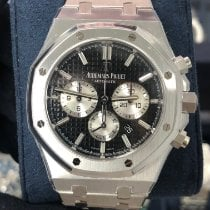 Audemars Piguet Royal Oak Chronograph Steel 41mm Black No numerals United States of America, New York, Manhattan