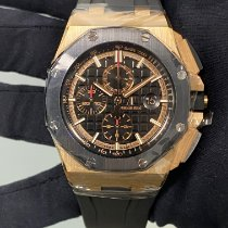 Audemars Piguet Royal Oak Offshore Chronograph Rose gold 44mm Black No numerals United States of America, New York, Manhattan