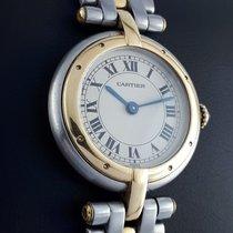 Cartier Panthère Acero y oro 24mm Blanco Romanos España, O Porriño