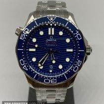Omega Seamaster Diver 300 M Staal 42mm Blauw Geen cijfers Nederland, Schiedam