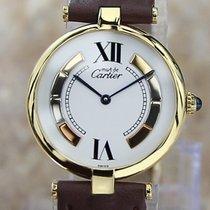 Cartier Trinity Cеребро 30mm Белый Римские