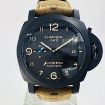 沛納海 Luminor 1950 3 Days GMT Automatic 陶瓷 44mm 黑色 阿拉伯數字 香港, Tsim Sha Tsui, Kowloon