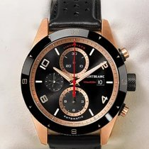Montblanc Red gold Automatic Black 43mm new Timewalker