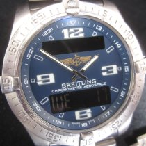 Breitling Aerospace Avantage Titanio 42mm Azul Arábigos