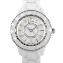 Dior VIII Ceramika 33mm Srebrny